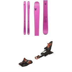 Faction Dictator 2.0X Skis - Women's  ​+ Marker Kingpin 10 Alpine Touring Ski Bindings