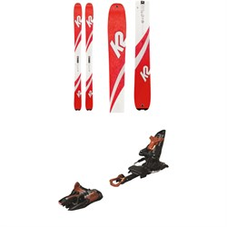 K2 Talkback 96 Skis - Women's 2020 ​+ Marker Kingpin 10 Alpine Touring Ski Bindings 2020