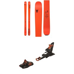 Faction Dictator 3.0 Skis  ​+ Marker Kingpin 13 Alpine Touring Ski Bindings