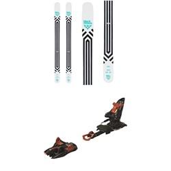 Black Crows Atris Skis  + Marker Kingpin 13 Alpine Touring Ski Bindings