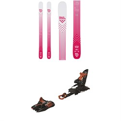 Black Crows Camox Birdie Skis - Women's  ​+ Marker Kingpin 10 Alpine Touring Ski Bindings