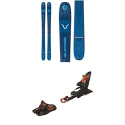 Blizzard Rustler 10 Skis  ​+ Marker Kingpin 13 Alpine Touring Ski Bindings