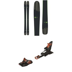 Rossignol Sky 7 HD Skis  ​+ Marker Kingpin 10 Alpine Touring Ski Bindings