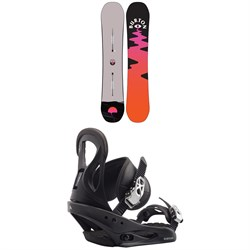 Burton Yeasayer Flying V Snowboard ​+ Citizen Snowboard Bindings - Women's 2021