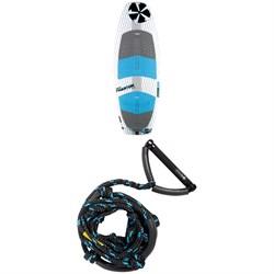 Phase Five Phantom Wakesurf Board + Phase Five Pro Surf Rope 2021