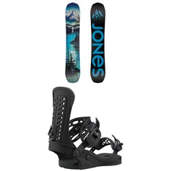 Jones Frontier Snowboard + Union Force Snowboard Bindings 2021