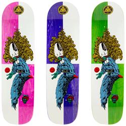 Welcome Tonight I'm Yours on Big Bunyip 8.5 Skateboard Deck