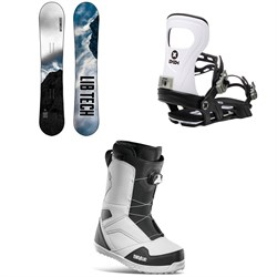 Lib Tech Cold Brew C2 Snowboard ​+ Bent Metal Joint Snowboard Bindings ​+ thirtytwo STW Boa Snowboard Boots 2021