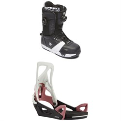 DC Lotus Step On Snowboard Boots ​+ Burton Step On Snowboard Bindings - Women's 2021