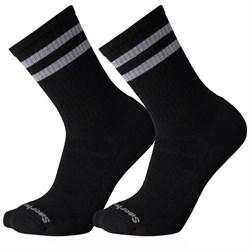 Smartwool Athletic Light Elite Stripe Crew Socks - 2 Pack