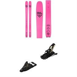 Black Crows Corvus Freebird Skis + Atomic Shift MNC 13 Alpine Touring Ski Bindings 2021
