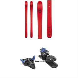 Black Crows Camox Freebird Skis + Dynafit ST Radical Alpine Touring Ski Bindings 2022