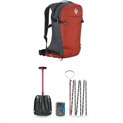 Black Diamond Dawn Patrol 25 (S​/M) Pack ​+ Recon BT Avalance Safety Package