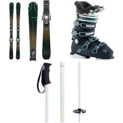 Rossignol Experience 74 W Skis + Xpress 10 GW Bindings + Alltrack Pro 80 W Ski Boots - Women's + evo Refract Ski Poles 2021