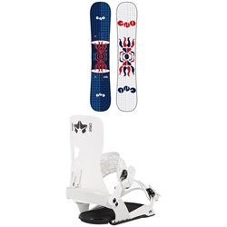 GNU FB Head Space Asym C3 Snowboard ​+ Rome Crux SE Snowboard Bindings