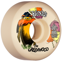 Bones The Greenwood STF Sidecuts 99a V5 Skateboard Wheels