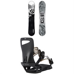 Lib Tech Cold Brew C2 Snowboard ​+ Rome Slice SE Snowboard Bindings