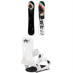 Lib Tech Dynamo C3 Snowboard + Rome Crux SE Snowboard Bindings