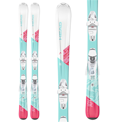 Head Joy Pro Skis ​+ SLR 4.5 GW Bindings - Little Girls' 2021