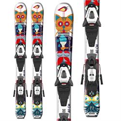 Salomon T1 XS Skis + C5 GW Bindings - Toddlers' 2022