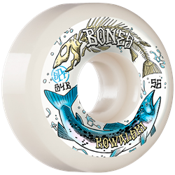 Bones Kowalski Salmon Spawn SPF 84B Sidecuts Skateboard Wheels
