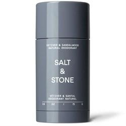 Salt & Stone Vetiver & Sandalwood Deodorant