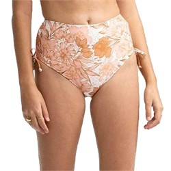 Rhythm Ohana High-Waist Tie Side Bikini Bottoms - Women's
