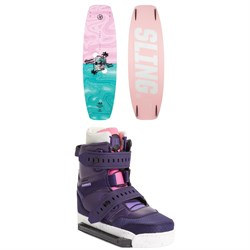 Slingshot Contrast ​+ Jewel Wakeboard Package - Women's 2021