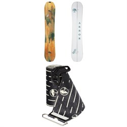 Arbor Swoon LTD Splitboard - Women's ​+ Arbor Angusta Swoon Splitboard Skins 2021