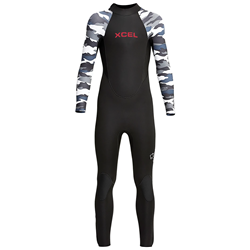 XCEL 4​/3 Youth Axis Back Zip Wetsuit - Boys'