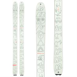 K2 x Geoff McFetridge Wayback 96 Skis 2021