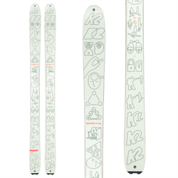 K2 x Geoff McFetridge Wayback 96 Skis 2021