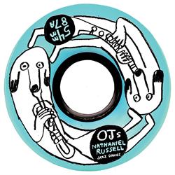 OJ Nathaniel Russel Jazz Dawgs Keyframe 87a Skateboard Wheels