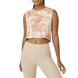 Beyond Yoga Night In Cropped Tank - Women's