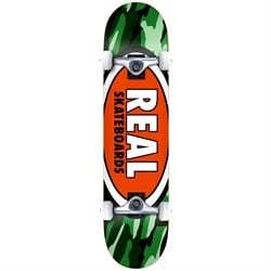 Real Team Oval Camo 7.75 Skateboard Complete