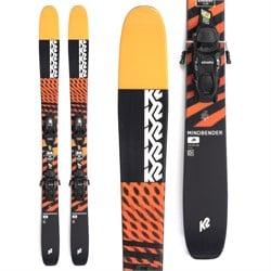 K2 Mindbender Jr Skis + FDT 7.0 Bindings - Big Kids' 2022