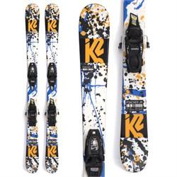 K2 Poacher Jr Skis + FDT 4.5 Bindings - Little Boys' 2022
