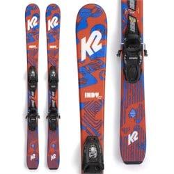 K2 Indy Skis + FDT 4.5 Bindings - Little Boys' 2022
