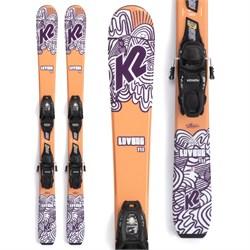 K2 Luv Bug Skis + FDT 4.5 Bindings - Little Girls' 2022