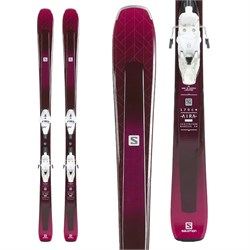 Salomon Aira 76 ST Skis ​+ L10 GW Bindings - Women's 2019