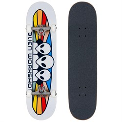 Alien Workshop Spectrum White Complete 8.0 Skateboard Complete