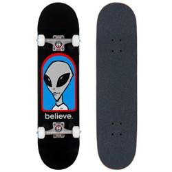 Alien Workshop Believe Black Complete 7.75 Skateboard Complete