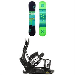 Rossignol Alias Snowboard ​+ Flow Micron Youth Snowboard Bindings - Kids' 2021