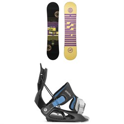 Rossignol Scan Snowboard ​+ Flow Micron Snowboard Bindings - Little Kids' 2021