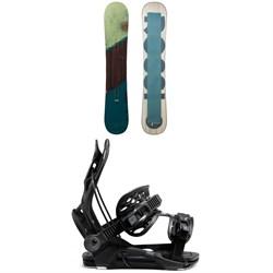 Rossignol Templar Snowboard + Flow Fenix Snowboard Bindings 2021