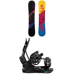 Rossignol Frenemy Snowboard + Flow Mayon Snowboard Bindings - Women's 2021