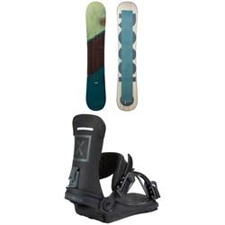 Rossignol Templar Snowboard 2021 + Fix Yale Ltd Snowboard Bindings 2021