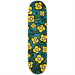 Krooked Team Wild Style Flowers 7.75 Skateboard Deck