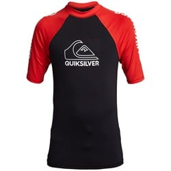 Quiksilver On Tour Short Sleeve Surf Tee - Boys'