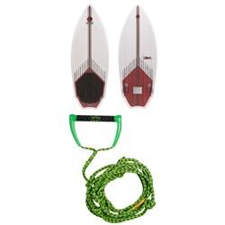 Connelly Jet Wakesurf Board 2020 + Proline x evo LGS 25 ft Surf Rope